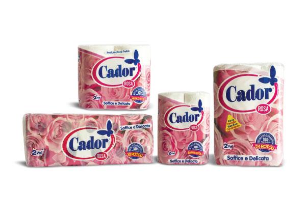 buono sconto i più votati più recenti check-out Carta Igienica Cador profumata e decorata 2 veli Linea Rosa ...